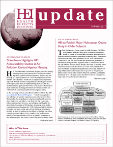 Cover of Update Spring 2017