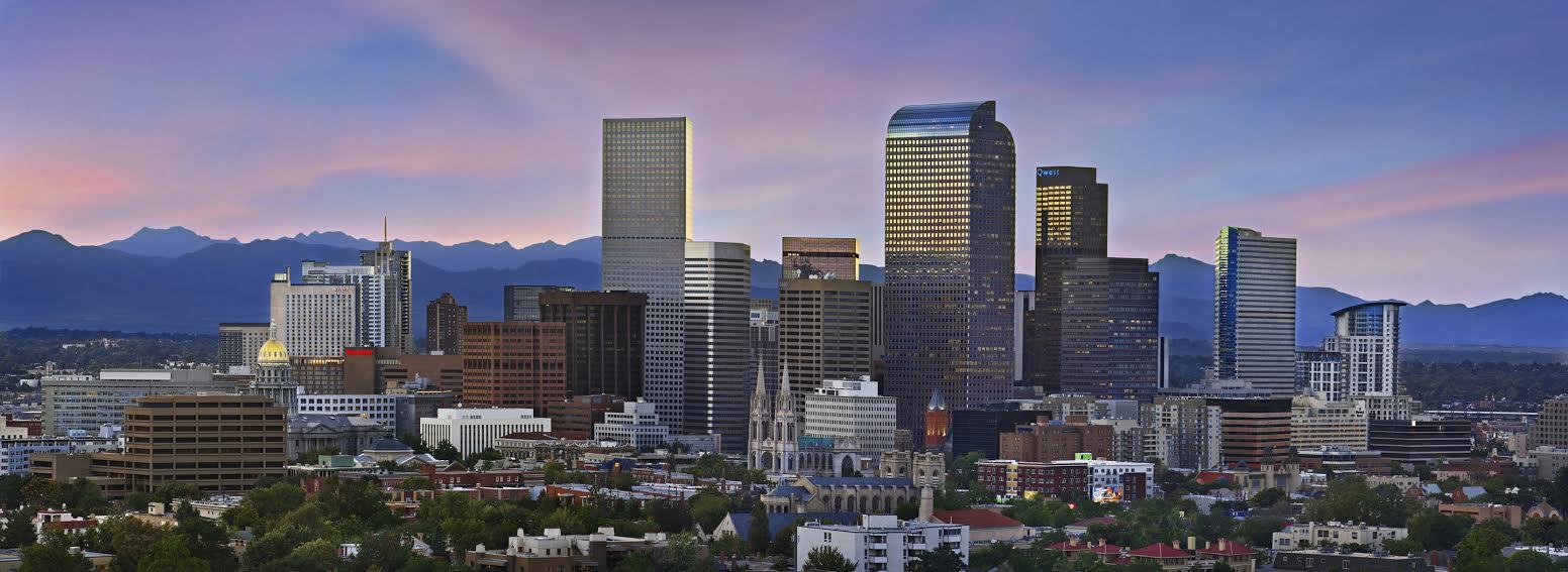 Skyline of Denver, CO.